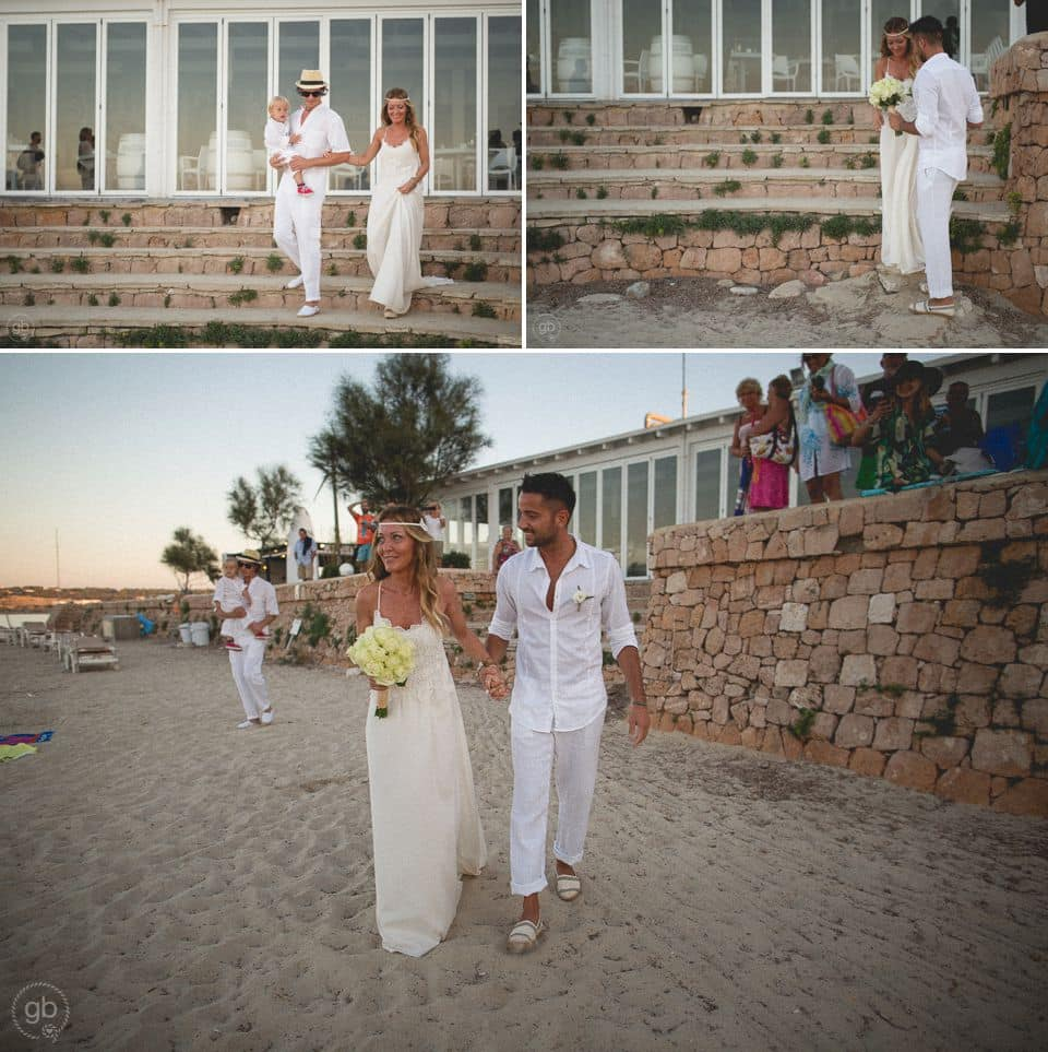 Matrimonio Spiaggia Paestum : Matrimonio in spiaggia a formentera
