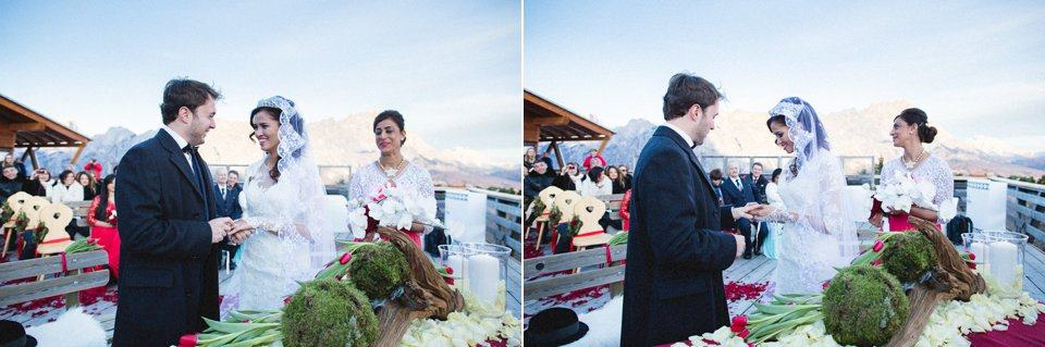 Matrimonio invernale Cortina destination weddings