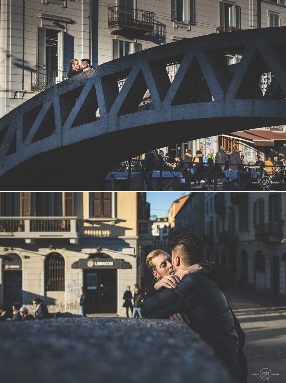 samesex engagement a Milano