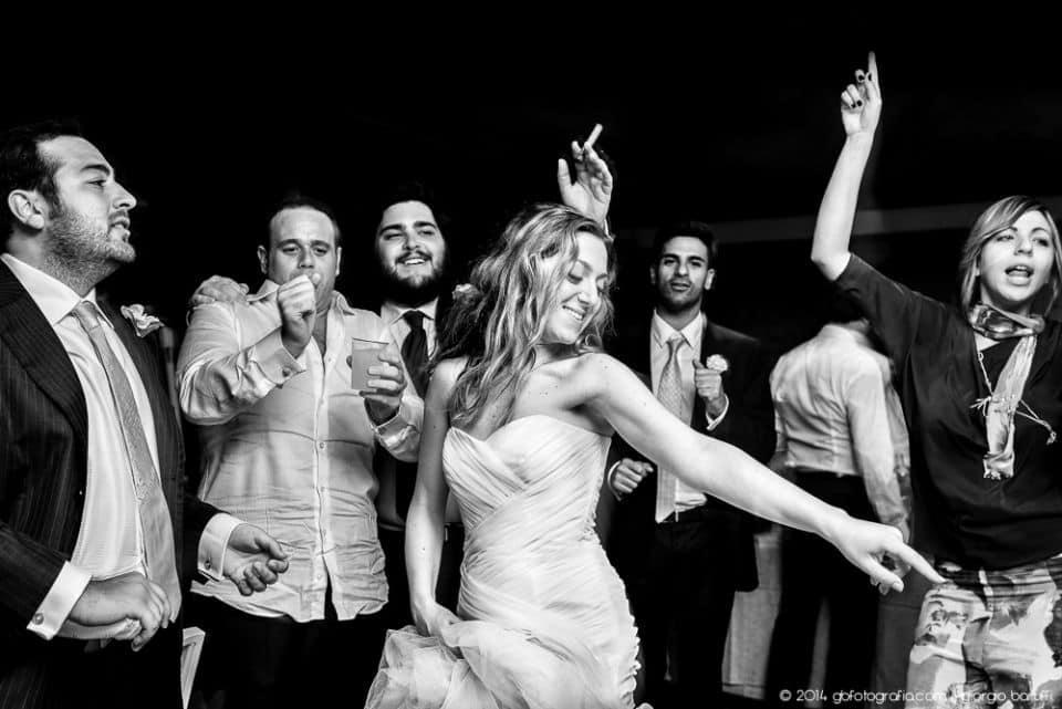 festa matrimonio Sorrento sposa amici