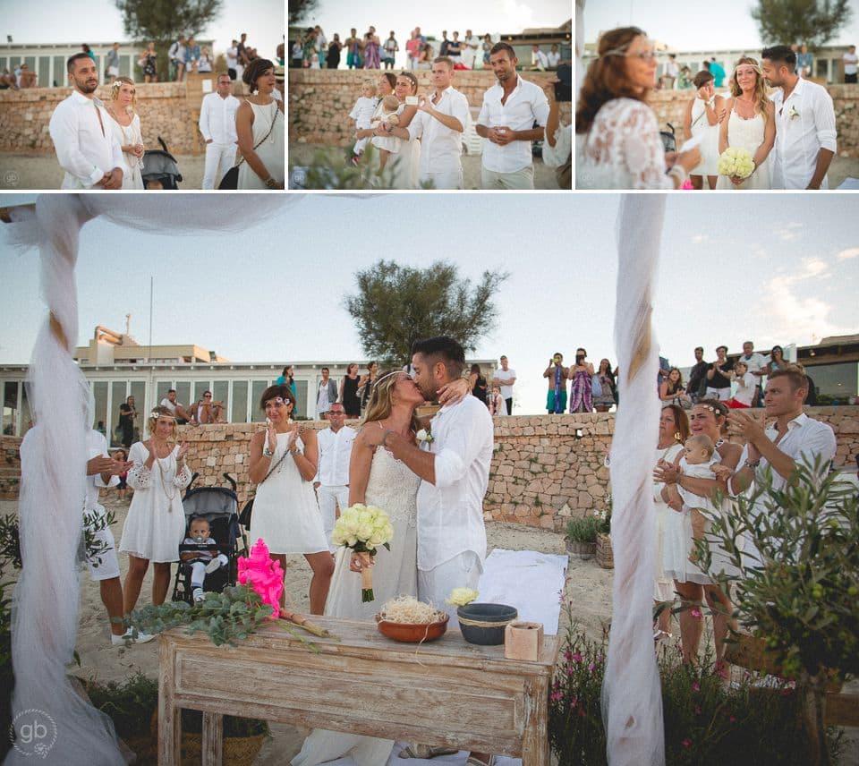 Matrimonio In Spiaggia Dove : Matrimonio spiaggia formentera giorgio baruffi fotografo