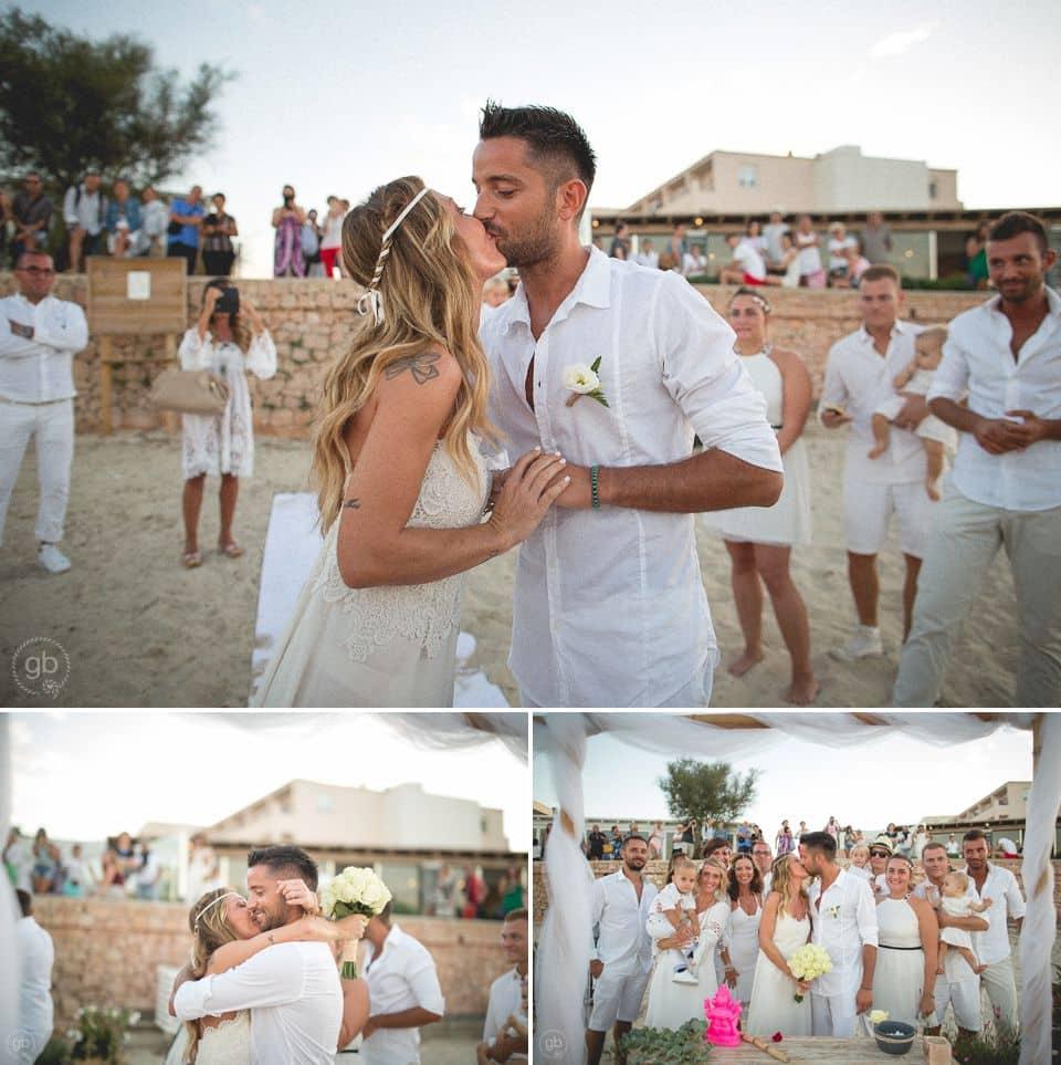 Matrimonio In Spiaggia Italia : Matrimonio spiaggia formentera giorgio baruffi fotografo