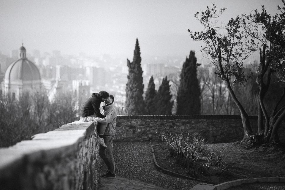 Castello di Brescia servizio di coppia