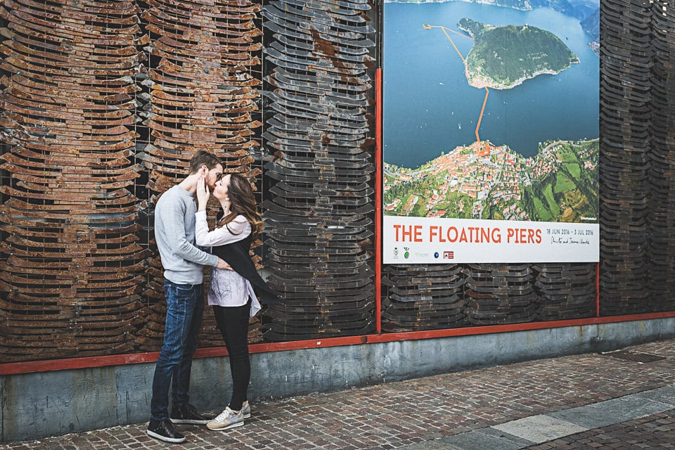 Engagement a Montisola sulle tracce del Floating Piers