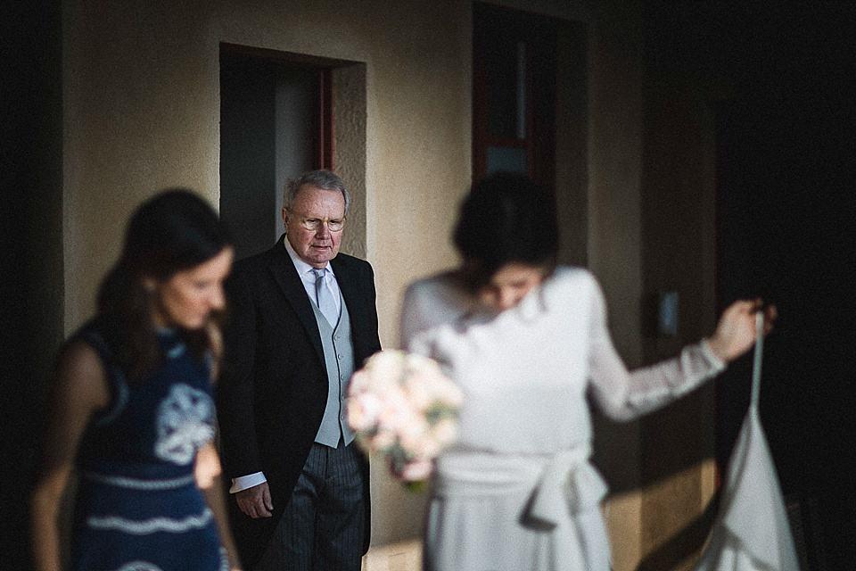 matrimonio invernale in franciacorta, il papà della sposa
