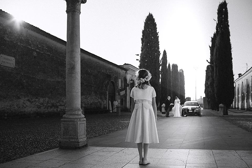 L'arrivo della sposa in franciacorta