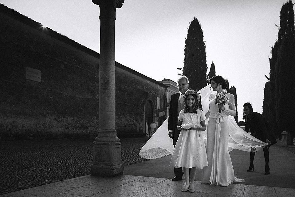 Il matrimonio sta per iniziare, fotografo Giorgio Baruffi.