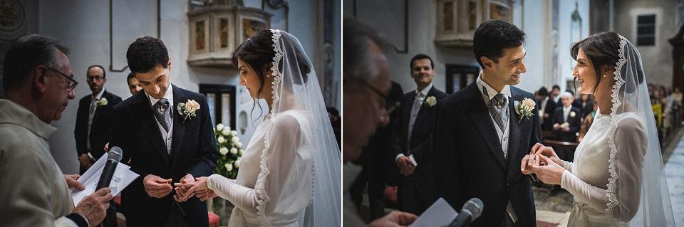 Fotografie di matrimonio: lo scambio degli anelli