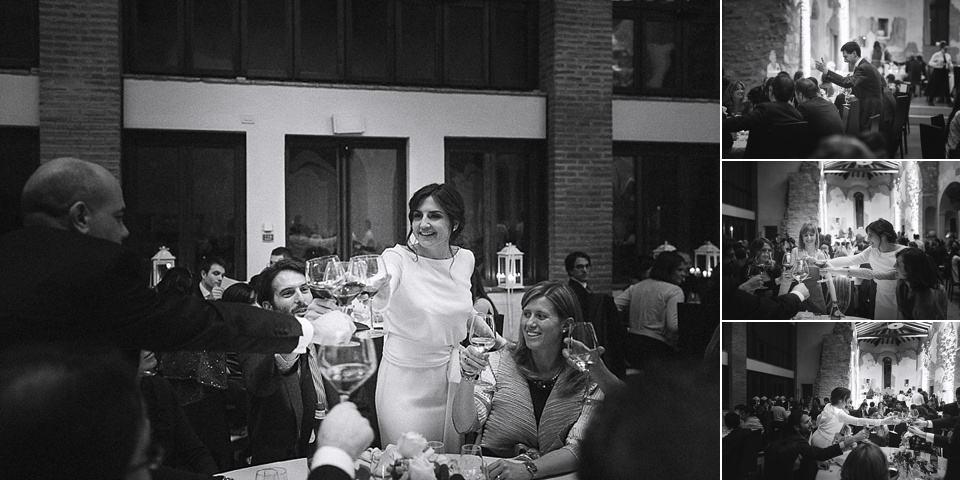 matrimonio invernale in franciacorta, i brindisi con gli amici