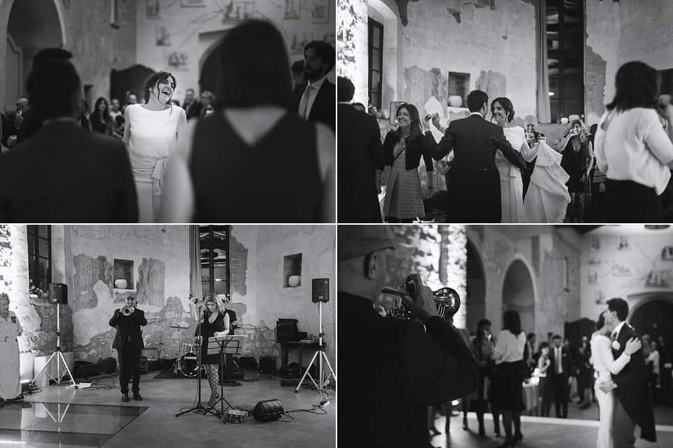 matrimonio invernale in franciacorta: i balli e la festa