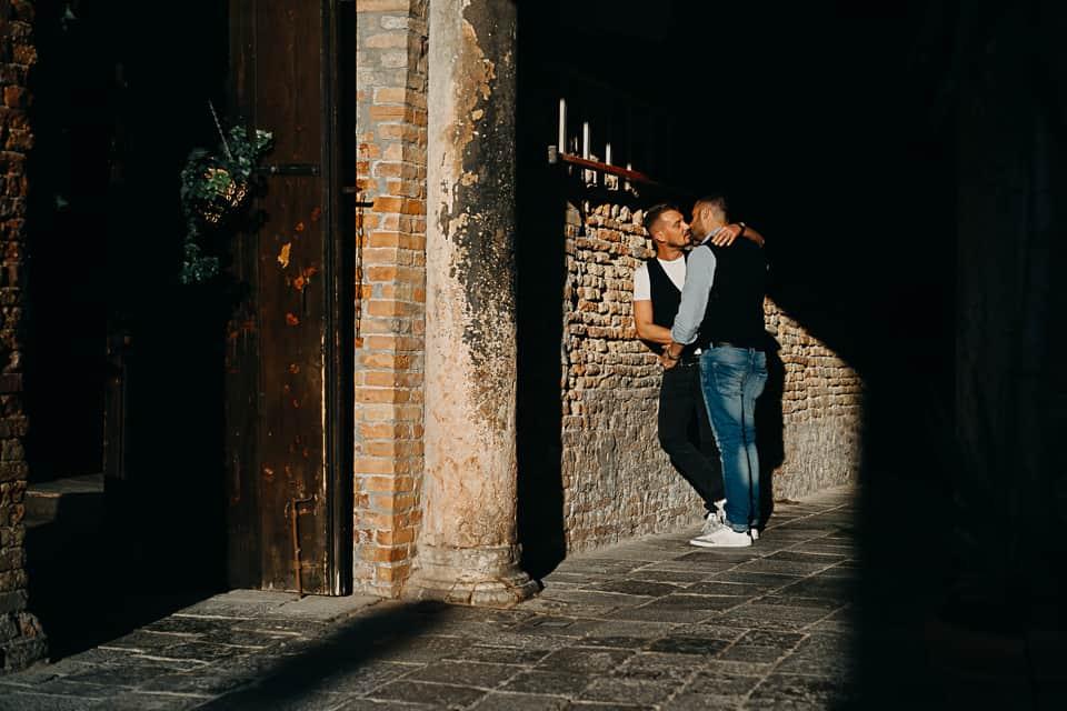 Ombre e luci, amore a Venezia