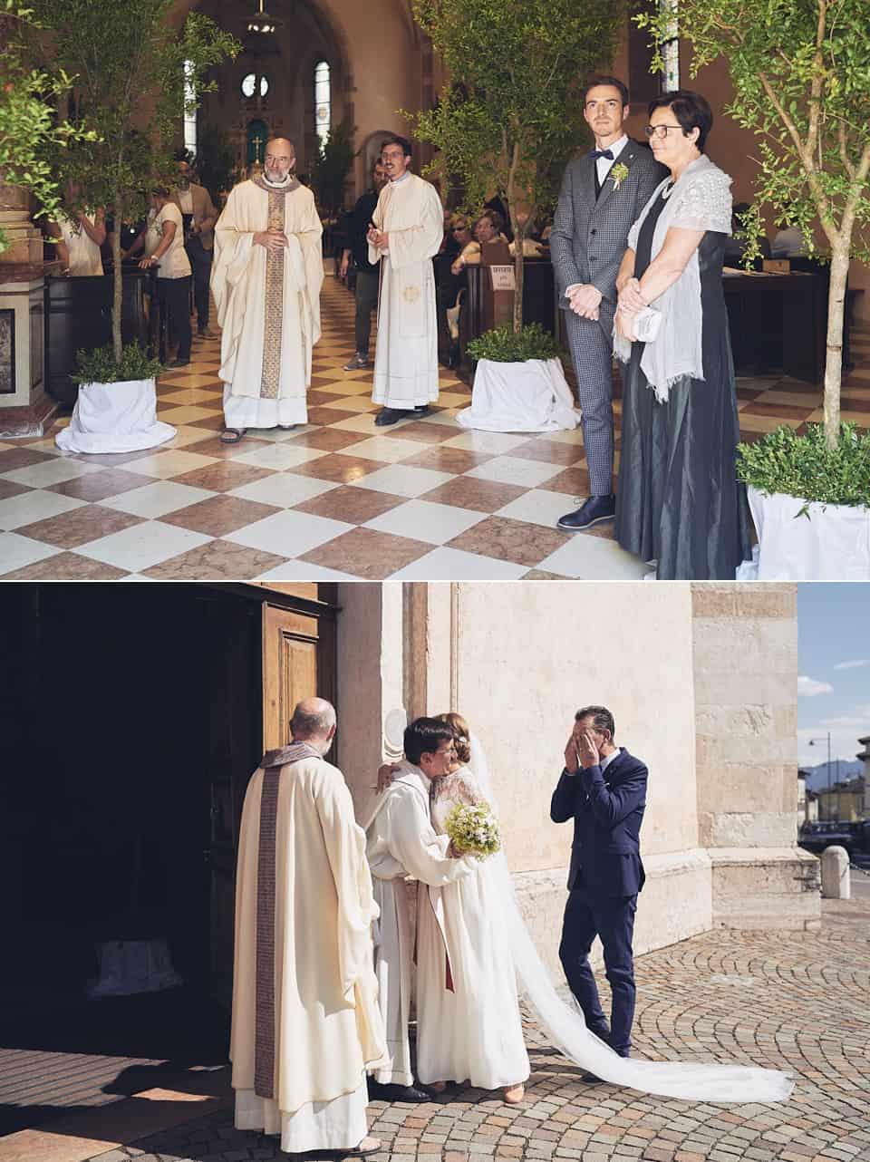 l'attesa della sposa e il pianto del papà fotografo per matrimoni Brescia