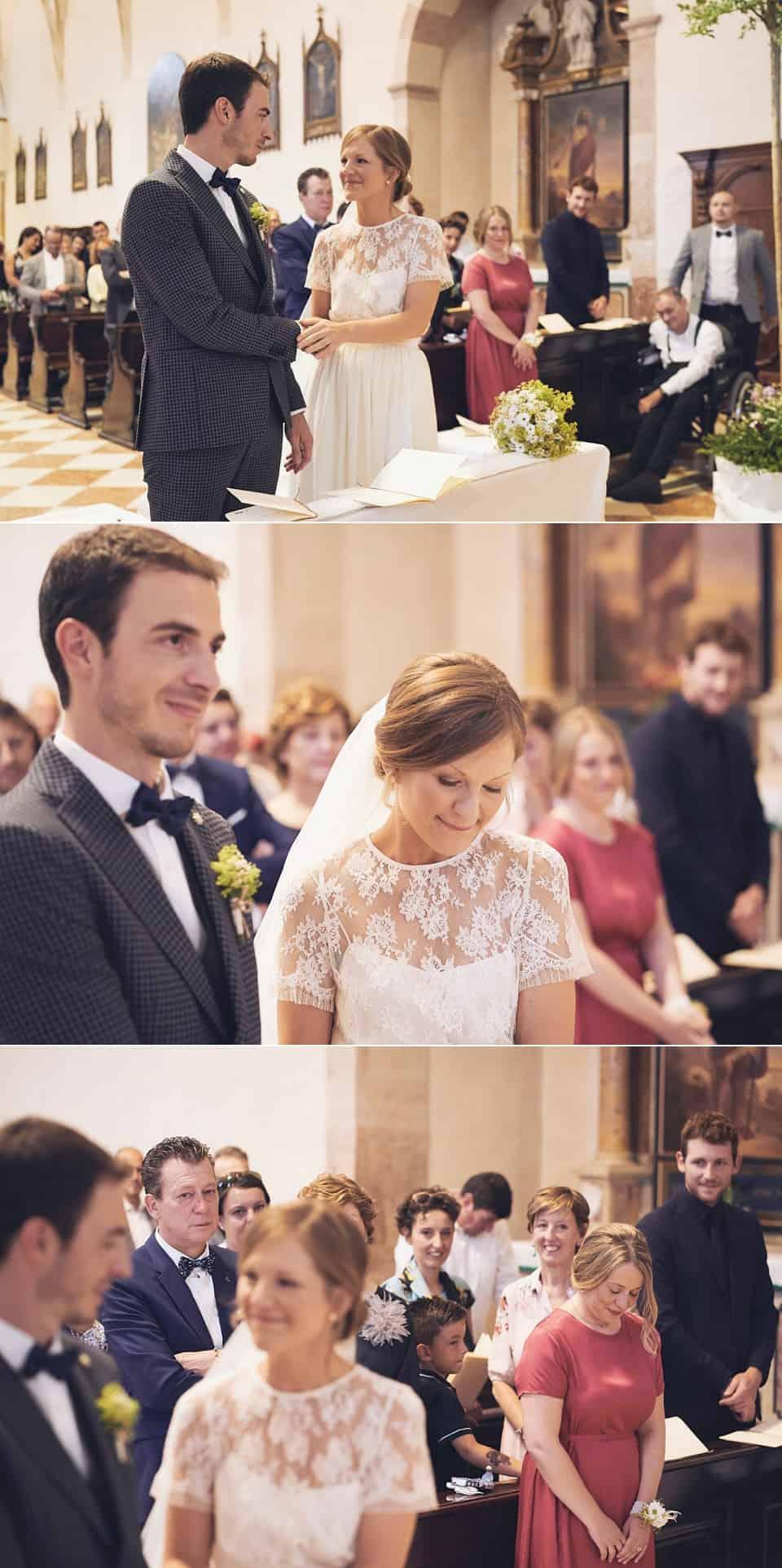 le promesse degli sposi e le emozioni degli astanti fotografo per matrimoni Brescia