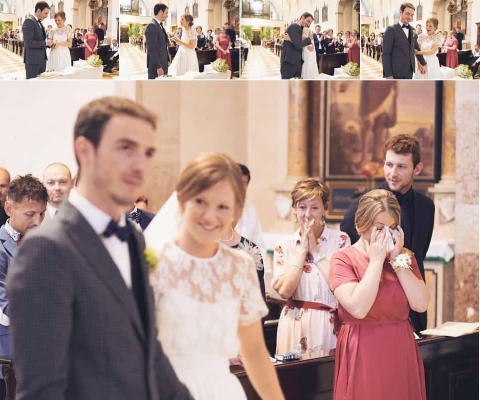scambio degli anelli e pianti fotografo per matrimoni Brescia