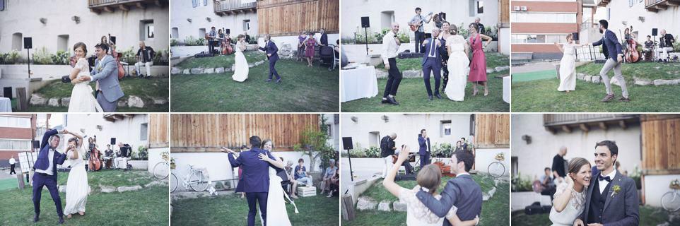 momento balli improvvisato fotografo per matrimoni Brescia